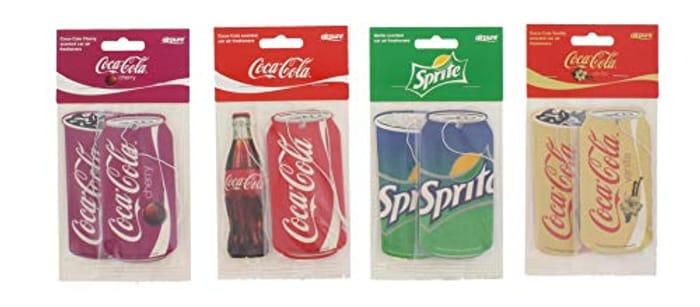 Coca Cola Sprite 2 Pack Retro Car Air Freshener