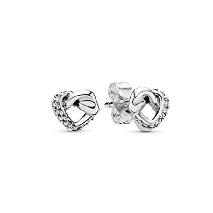 Best Ever Price! Pandora Women Silver Stud Earrings
