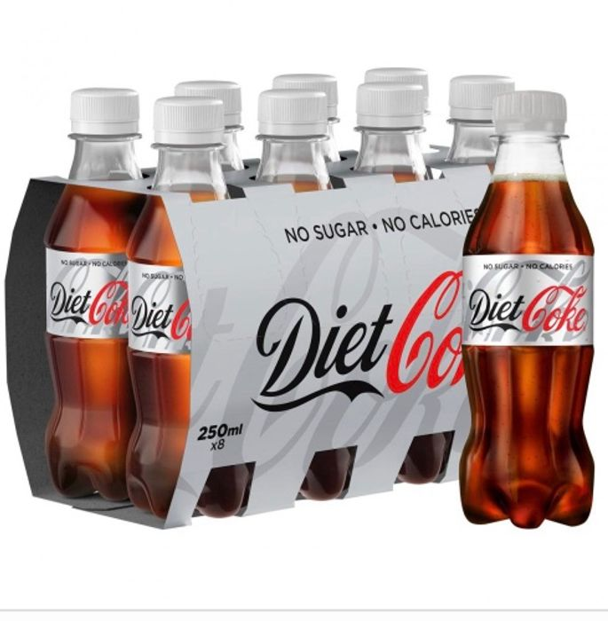 MEGA DEAL Diet Coke 8 X 250ml