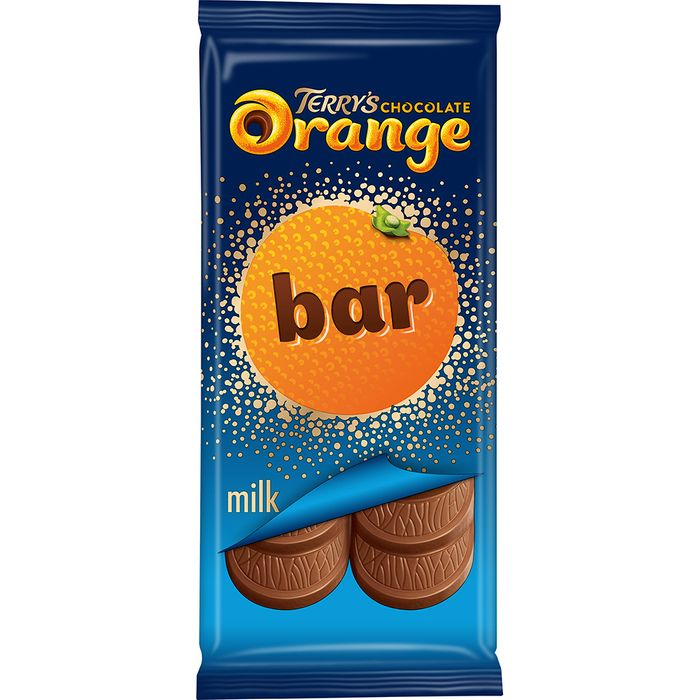 Terry's Chocolate Orange 90g Sharing Bar (Case of 19)