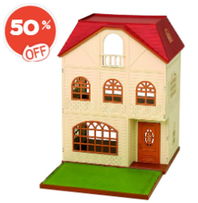 Sylvanian Families 3 Story House - HALF PRICE