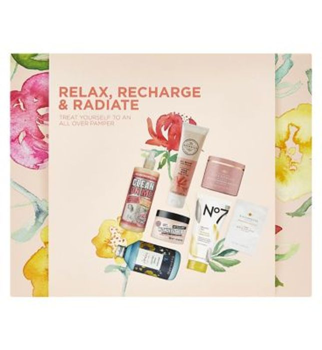 Relax, Recharge & Radiate Gift Set Down From £51.49 to £25