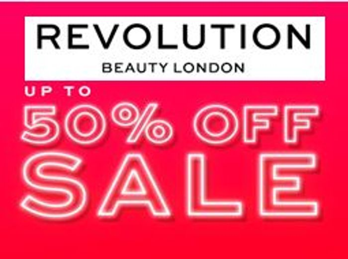 Revolution Beauty Up To 50% Off Sale - Palettes From £3!