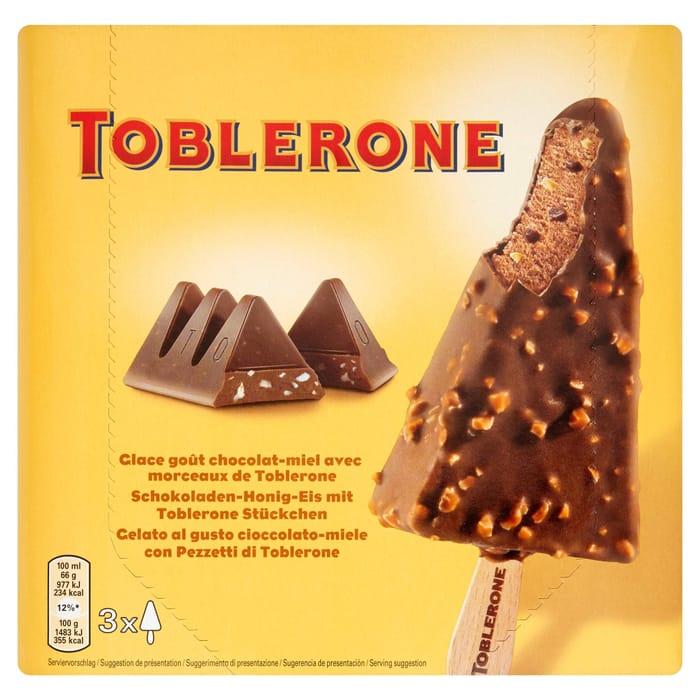 Toblerone Ice-Cream 3 X 100ml - Only £3!