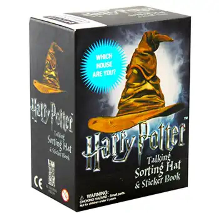 Best Price! Harry Potter Talking Sorting Hat and Sticker Book at the Works