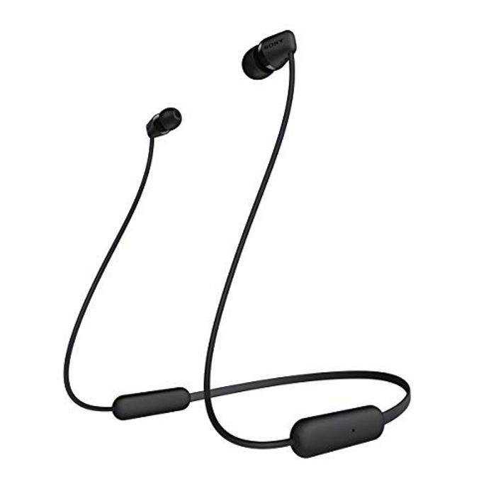 SONY WI-C200 Wireless Bluetooth Headphones - Black