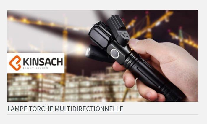 Multidirectional Flashlight - BETTER Than 1/2 Price
