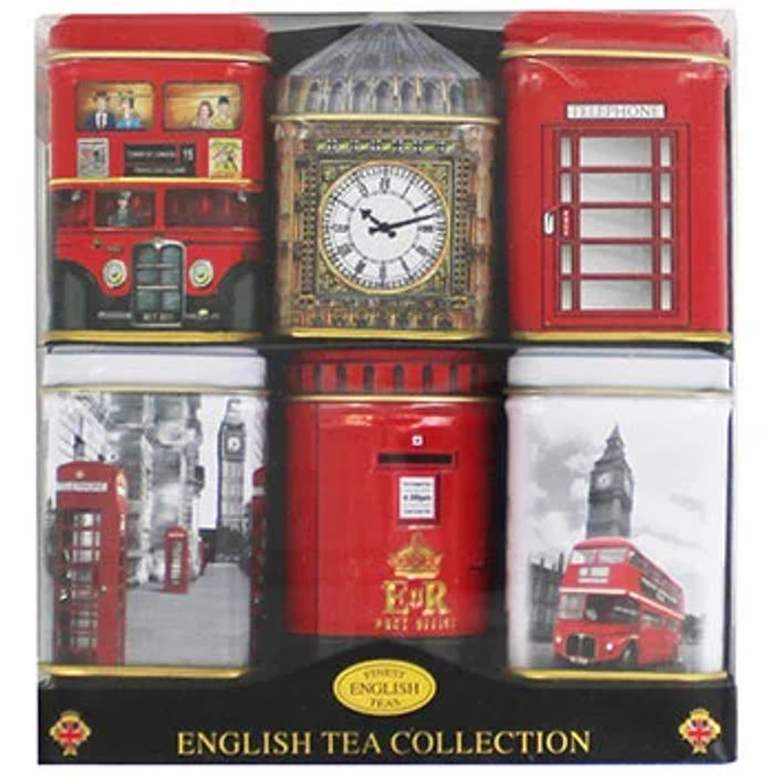 English Tea Collection - Set of 6