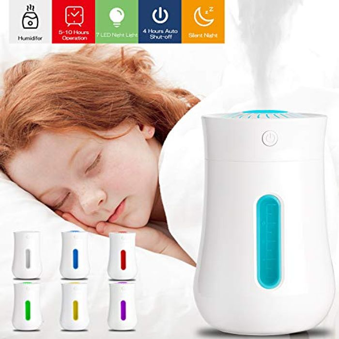 Deal Stack - USB Humidifier & Colour Change Light Cheapest Ever Price