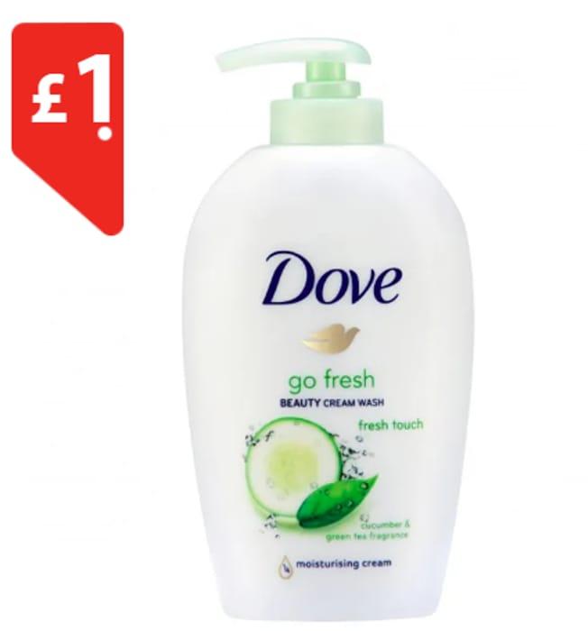 Dove Liquid Hand Wash Pump Fresh Touch 250ml