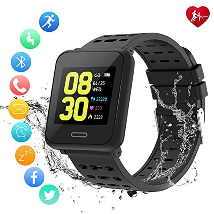 Deal Stack! Winzwon Smart Watch Fitness Tracker