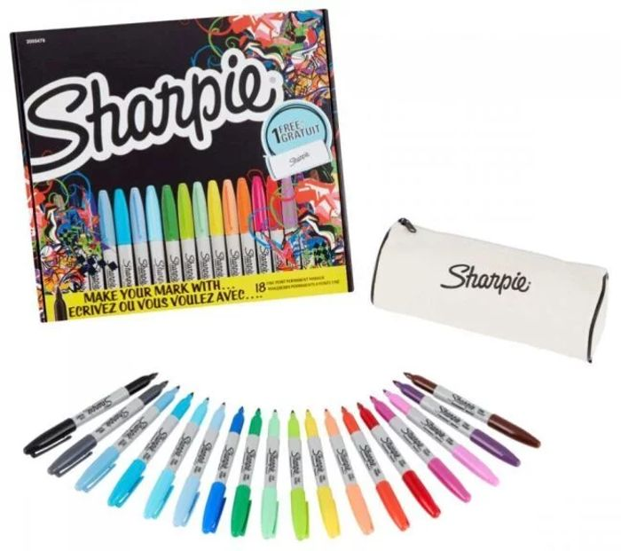 *HALF PRICE* Sharpie Fine Permanent Markers Limited Edition Pack of 18 Assorted