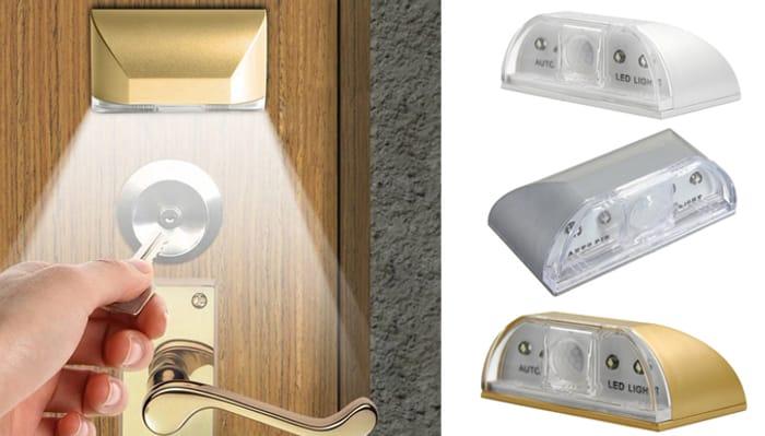 Motion Sensor Door Night Light - 3 Colours