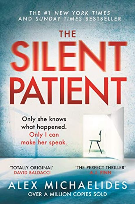 The Silent Patient by Alex Michaelides HALF PRICE