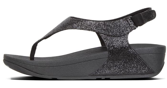 Skylar Glitter Back-Strap Sandals