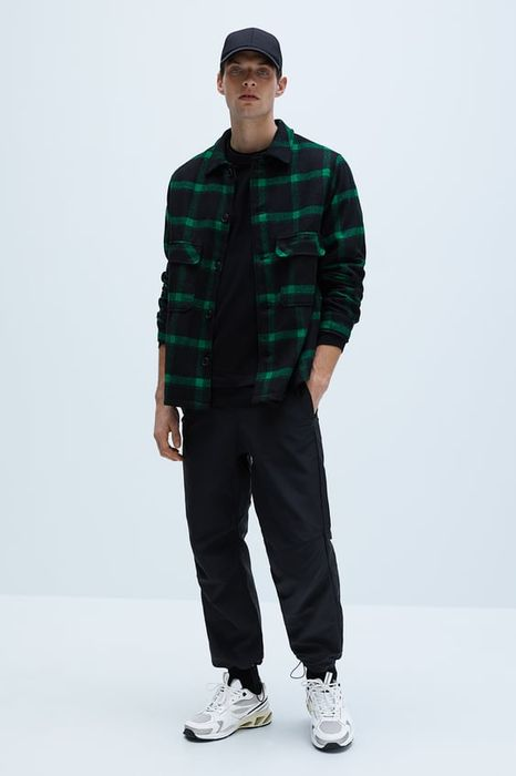 Check Textured Jacket at Zara 60% off Now £19.99 (Free C&C)