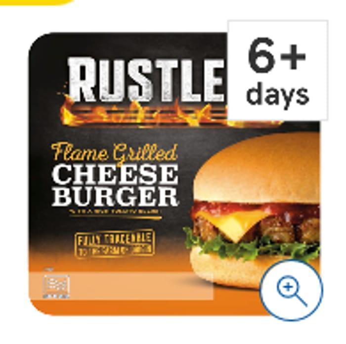 Rustlers Cheese Burger Half Price Now £1 @Tesco