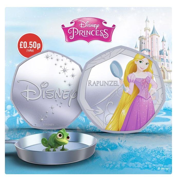 Rapunzel Silver-Plated Commemorative - Limited Time Only