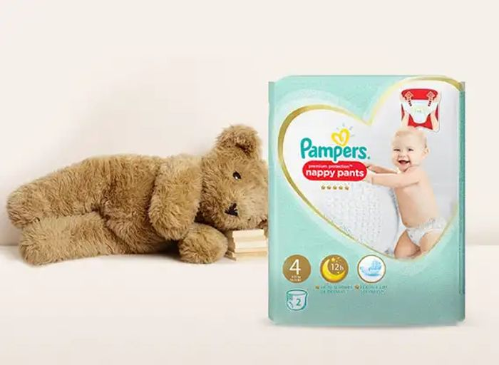 Free Samples of Pampers Nappies in Size 4