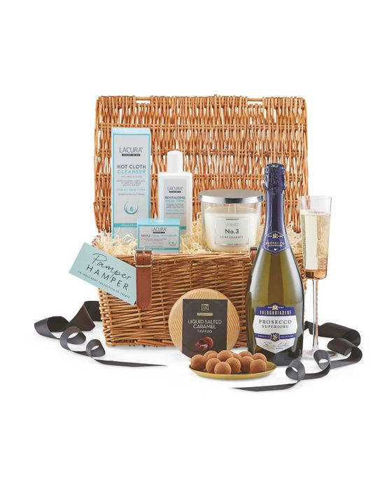 Mother's Day Pamper Hamper Inc Prosecco, Chocolates & Candle