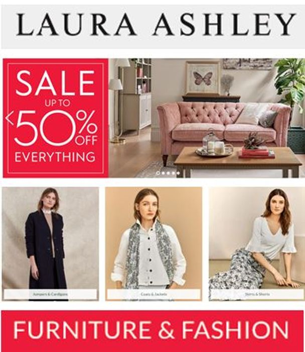 Laura Ashley Sale - up to 50% off EVERYTHING