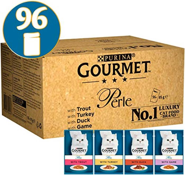 PRICE DROP! Gourmet Perle Country Medley, 96 X 85g. FREE DELIVERY