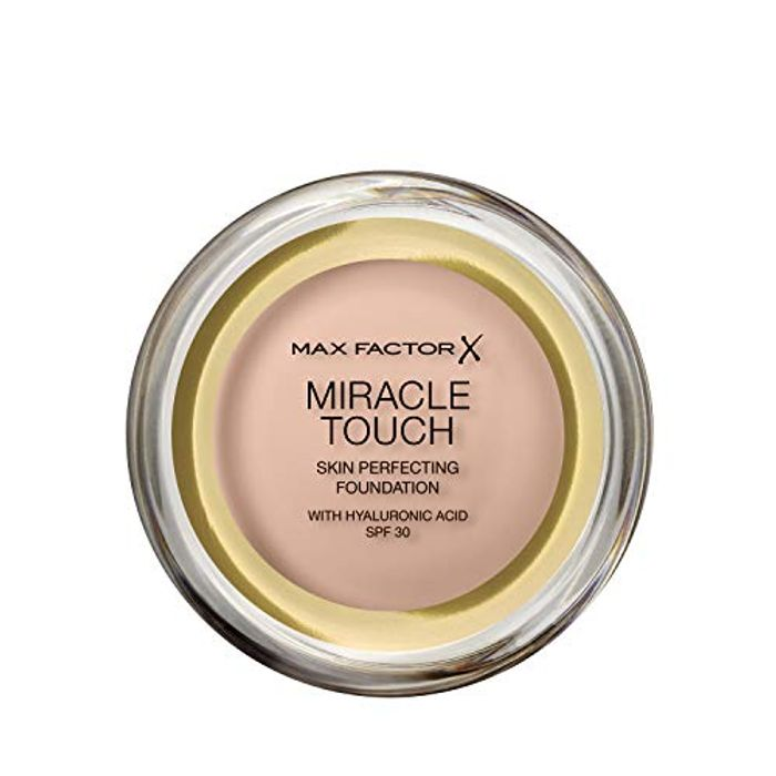 Max Factor Miracle Touch Foundation, New and Improved Formula