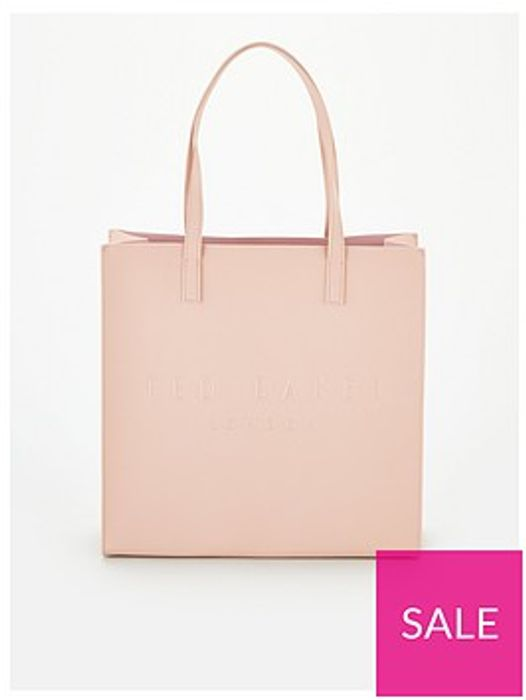 Ted Baker Soocon Crosshatch Large Icon Bag - Pale Pink