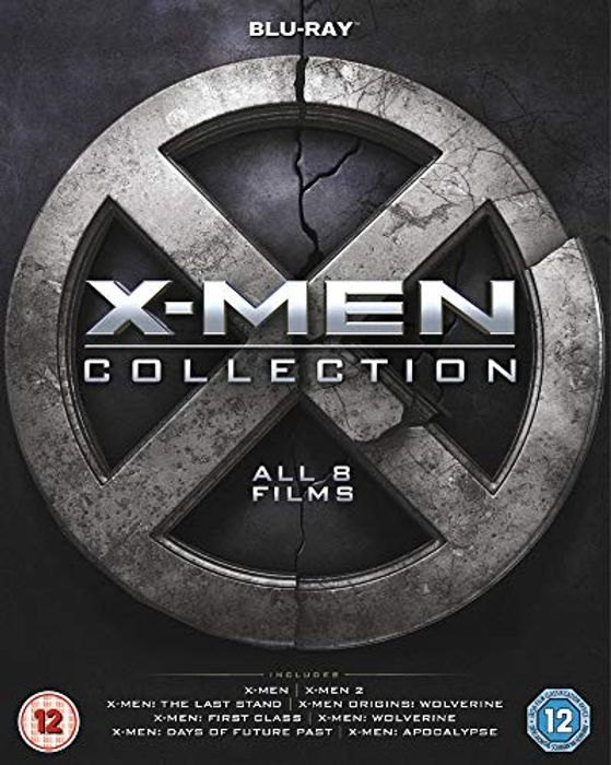 X-Men Collection [Blu-Ray] [2000] All 8 Movies
