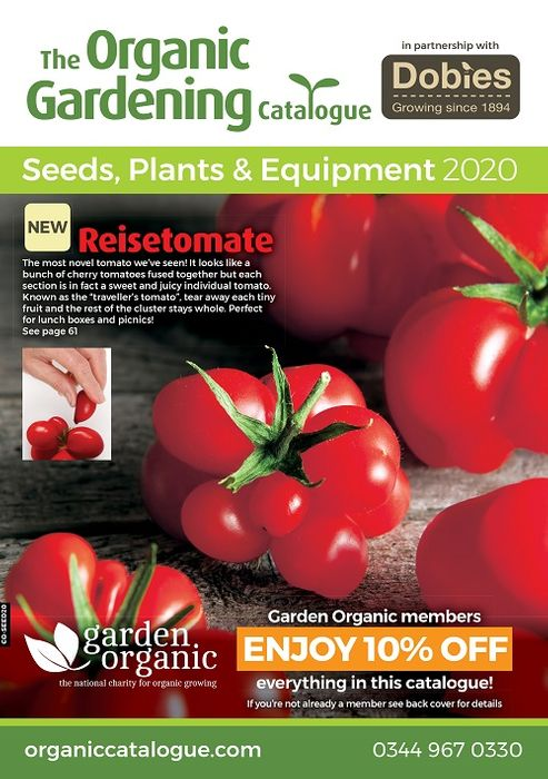 Get The Organic Gardening Catalogue FREE BY POST