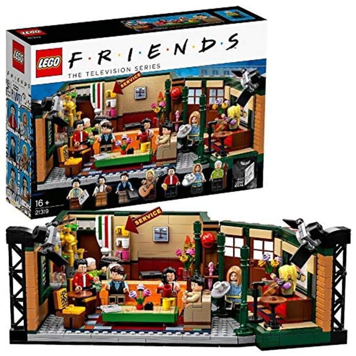 LEGO 21319 Ideas Central Perk Friends TV Show Series Collectors Set.