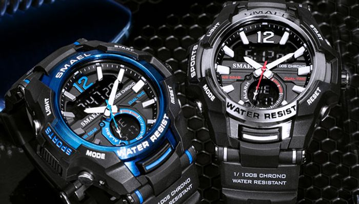 Water Resistant Digital Military Watch - 9 Colours