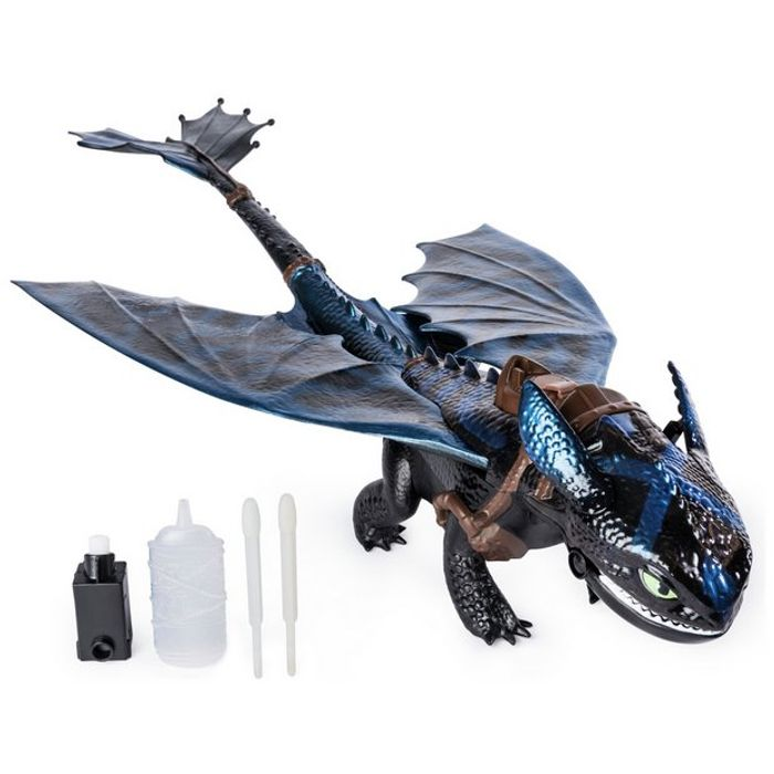 Dragons 3 'Fire Breathing' Toothless Toy