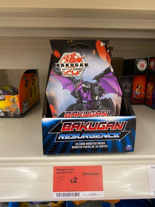 Bakugan Card Booster Pack - Half Price