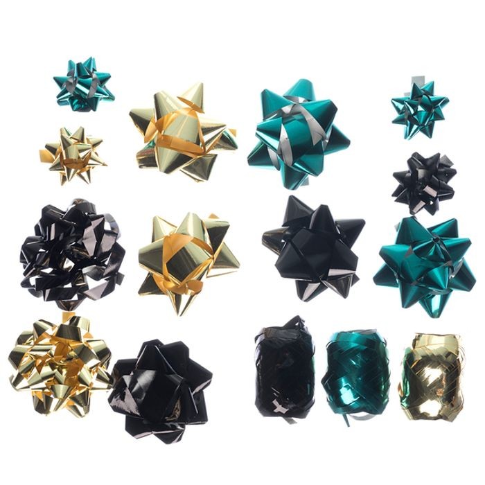 WHSmith Emerald, Gold and Black 15 Piece Gift Accessories Pack