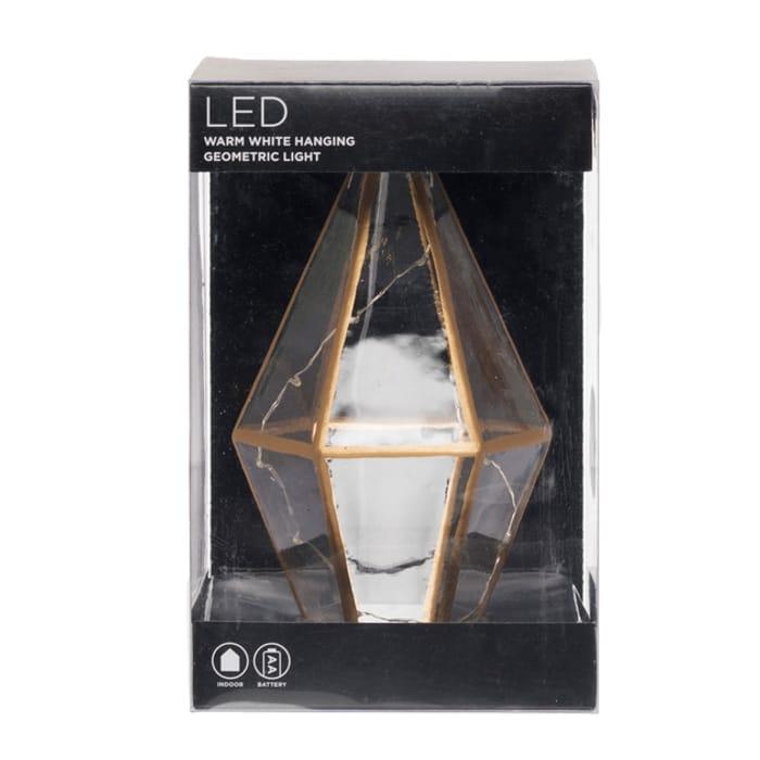 WHSmith Warm White Hanging Geometric Indoor Light