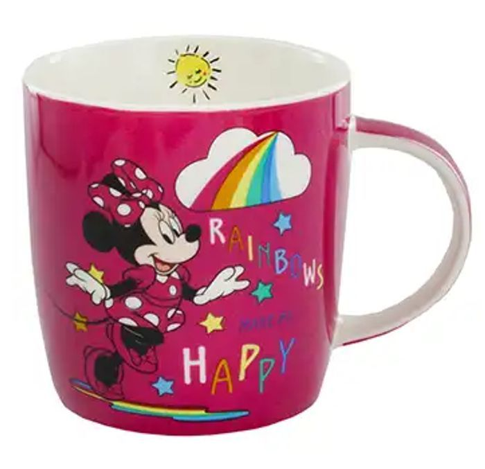Disney Minnie Mouse Ceramic Mugs - Only £3.75 with Code!
