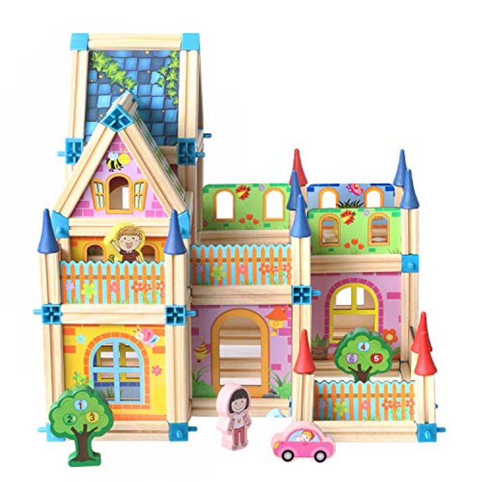 Wooden Dollhouse DIY Kit - 67% Off