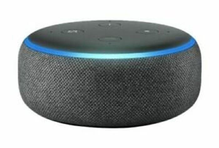 Amazon Echo Dot - 3rd Gen - Smart Speaker - Charcoal Fabric - Free next Day!!!!