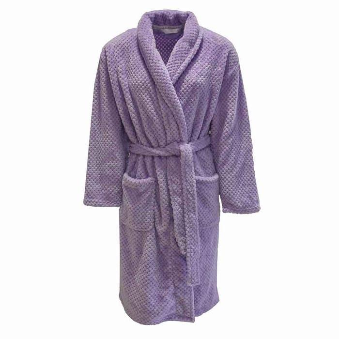 Honeycomb Fleece Dressing Gown £2 Off