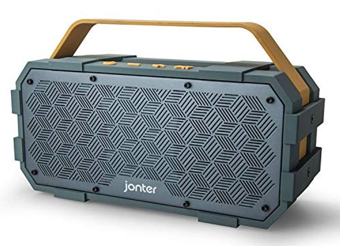 50% OFF-Bluetooth Speaker with Built in Subwoofer for Only £19.99