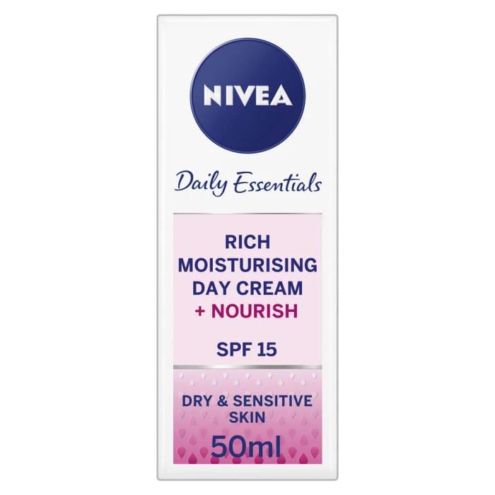 Nivea Daily Essentials Rich Moisturising Day Cream 50ml