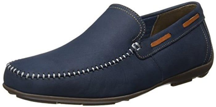 Men's Genuine Leather Slip-on Shoe Size 10
