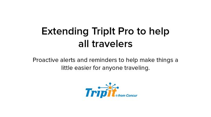Free Trip-IT Pro for 6 Months