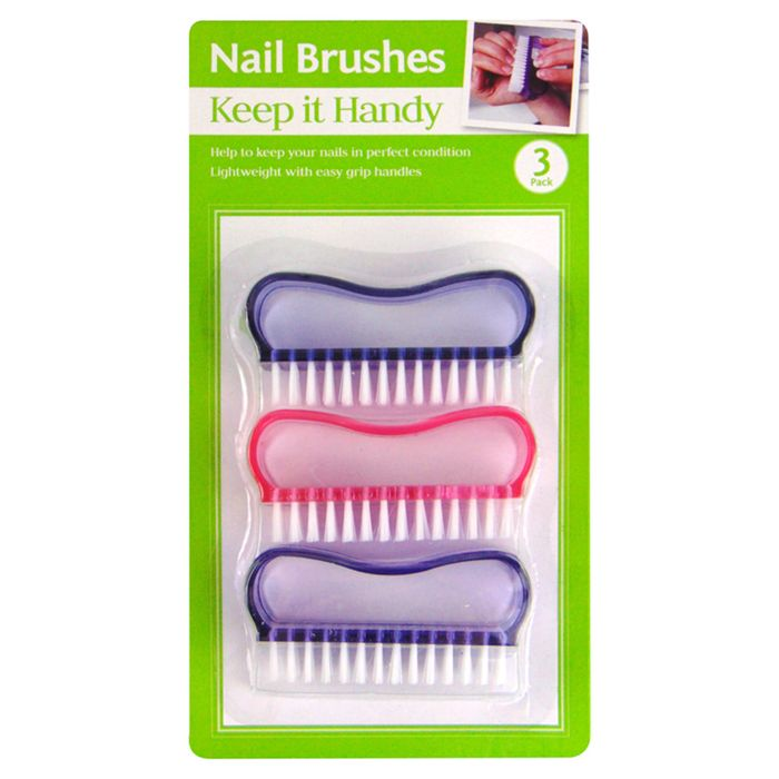 Keep It Handy Nail Brushes *3 Pack