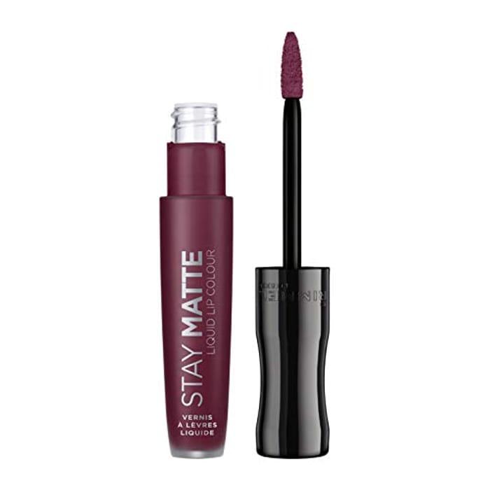 Rimmel Stay Matte Liquid Lipstick, Midnight