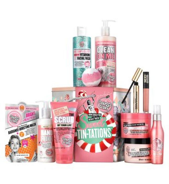 Soap & Glory Sweet Tin-Tations Gift Set Only £25