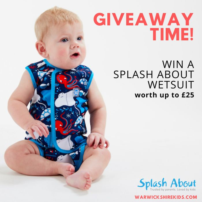 Win a SplashAbout Baby or Child Wetsuit worth up to £24.99!