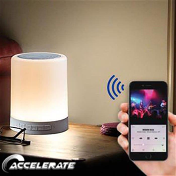 Accelerate: Bluetooth Touchlight Speaker