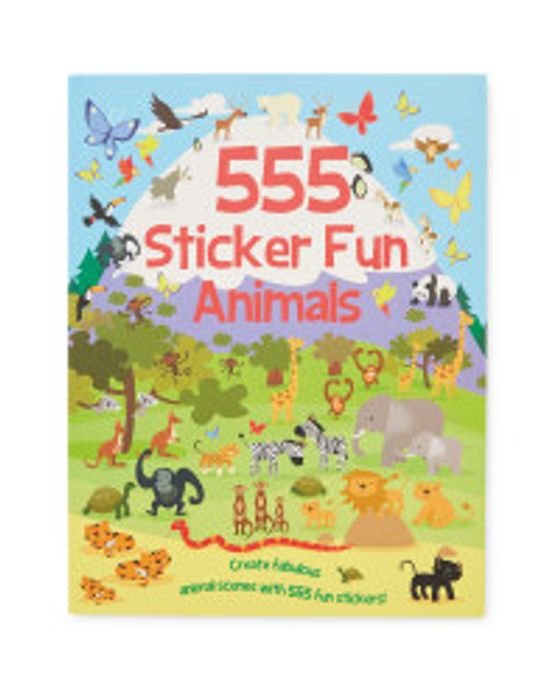 Best Price! 555 Animals Sticker Fun Book